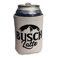 Busch Light Busch Latte Beer Koozie Can Cooler