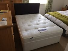 Silentnight Double Divan Bed, Matress and Headboard