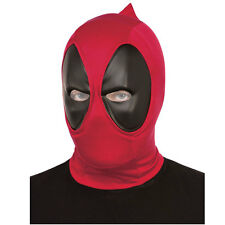 DEADPOOL MASK HOOD Adult Mens Marvel Comics Fancy Dress Costume Accessory 68850