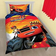 Blaze And The Monster Machines Zoom Single Panel Duvet Set Quilt Cover Bedding