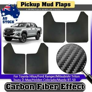 Pickup Mudflaps Mud Flaps Splash Guards For Holden Colorado 7 Mazda BT50 BT-50