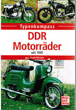 Typenkompass DDR Motorräder seit 1945 Frank Rönicke
