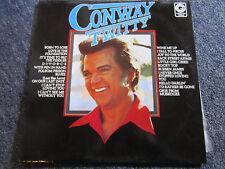 "VINYL RECORD CONWAY TWITTY  33 R.P.M. 12""  LP"