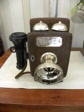 JIM BEAM TELEPHONE PIONEERS OF AMERICA WALL PHONE DECANTER