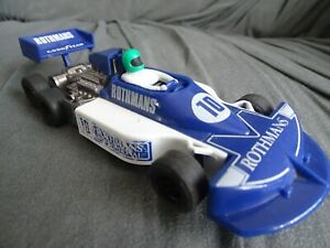 SCALEXTRIC F1 FEST C129 MARCH 240 6 WHEELER BLUE ROTHMANS LIVERY 100% INTACT '78