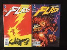 flash new 52 #22,23 (1st new 52 reverse flash)