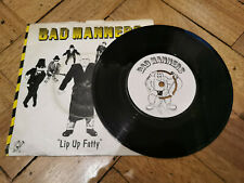 "bad manners lip up fatty 7"" vinyl record good condition"