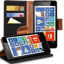 Schutzhülle Nokia Lumia 630 Hülle Flip Case Klapphülle Slim Book Cover Tasche