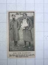 1917 2 Gallant Australians Terrific Attack Capture Bullecourt Arriving Hospital