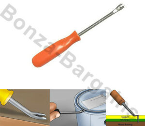 """NEW 7.5"""" TACK LIFTER UPHOLSTERY TOOLS NAILS REMOVER LIFT HOME WORK CARPET FLOOR"""