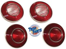 1974 Corvette C3 Tail Lights w/ Backup Lights. US Made by Trim Parts. Set of 4