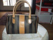 Vintage gorgeous stripe Fendi speedy handbag sachel