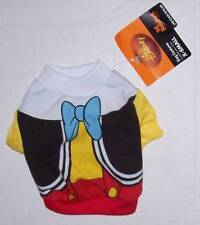 NWT Disney Pet Costume Large - PINOCCHIO - Dog clothes shirt Halloween