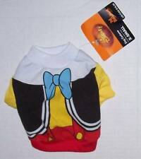 NWT Disney Pet Costume Small - PINOCCHIO - Dog clothes shirt Halloween