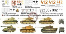 Peddinghaus 1/35 German Tank & Vehicle Markings Gothic Line Italy & France 2320