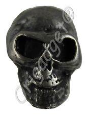 Loose Studs Skull Big Antique Silver Bag of 10 Skull Stud Btbv