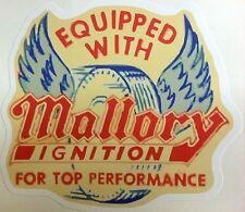 RAT ROD HOT ROD CHOPPER  BOBBER TATTOO  DECAL STICKER   MALLORY TOOLS MECHANIC
