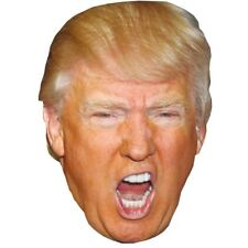 Donald Trump (Shouting) Celebrity Mask, Card Face and Fancy Dress Mask