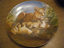 """A Watchful Eye"" Collector Plate- 2nd issue Signs Of Love by Yin-Rei Hicks"
