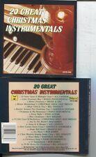 20 GREAT CHRISTMAS INSTRUMENTALS -VAR (CD) CANNON DOGGETT KAMES NASHVILLEGUITARS