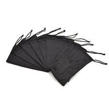 1pcs Soft Microfiber Pouch Bag For Sunglasse Glasses Includes Lanyard & Cloth LW