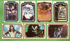#D282. SEVEN  1978  KISS  MUSIC  CARDS