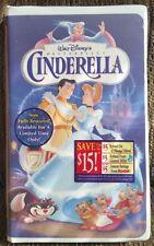 Disney Cinderella (VHS, 1995) Brand new, wrapped video.