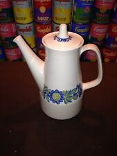 A vintage MCM Turi Design Tor Viking Figgjo Flint Norway Coffee Pot - A+