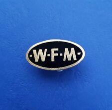 WFM - Pin - Emaille - schwarz