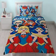 DC Comics Super Hero Girls Bedding Set (DHGSUPDS001UK1)