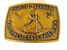 Vintage BSA Charles L Sommers Belt Buckle