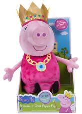 🚛 Fast Shipping! {NEW} Peppa Pig Princess N Oink Peppa Plush Stuffed Animal