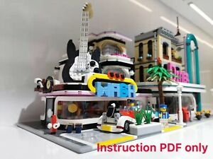 lego moc Guitar House  Not 10260 (instructions Only )