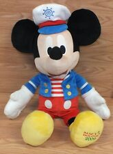 "2009 Macy's Holiday Large 20"" (inch) Plus Sailor Mickey Mouse Stuffed Doll Only"