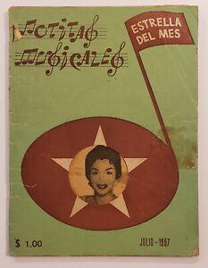 VINTAGE MAGAZINE / NOTITAS MUSICALES / MARILYN MONROE ARTICLE / MEXICO 1957