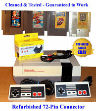 NES Console Bundle (BEST PINS) + Super Mario Bros 1 2 3 & Zelda - Guaranteed