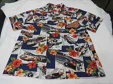 HAWAIIAN AVIATION SHIRT (BLUE)