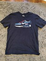 Vintage Nike Air Max 90 Dark Navy  Tee T-Shirt Size Large / Medium *RARE*