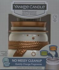Yankee Candle Scenterpiece Snowman Jack Frost w/ LED and Timer Warmer NIB