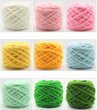 Hot Multicolor Crochet Soft Cotton Knitting Yarn milk fiber Natural Wool Yarn