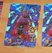 DRAGON BALL Z GT DBZ DBS HEROES CARD PRISM HOLO CARTE HGD8-CP5 CP MADE JAPAN NM