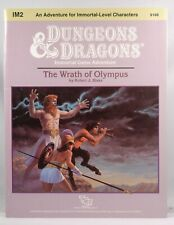 D&D BECMI IM2 The Wrath of Olympus from Zeb Cook Collection VG++  Robert J Blake