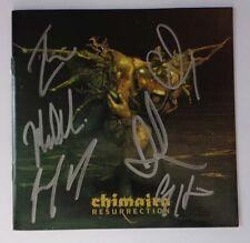 AUTOGRAPHED - Chimaira - 'Resurrection' [CD/DVD] + COA