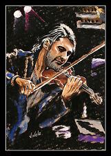 David Garrett ARTPRINT by Volker Welz Essen Symphoniker Violine Klassik Geige AK