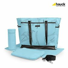 Hauck Sammy Changing Bag Baby Maternity & changing mat & utensil holder& bottle