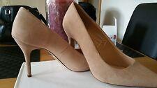 Primark beige suede high heels size 7