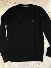 Maglione RALPH LAUREN Donna Sweater Woman Pull Taglia Size S Lana Merino