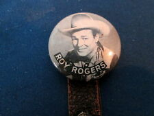 1940's ERA - ROY ROGERS with SIX SHOOTER BADGES / PIN