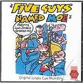 Five Guys Named Moe (Original London Cast Recording) CD 1991 (VGC)