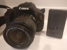Canon EOS Rebel T3i 18MP DSLR Camera DS126311,18-55 lens,  - No battery - err 05